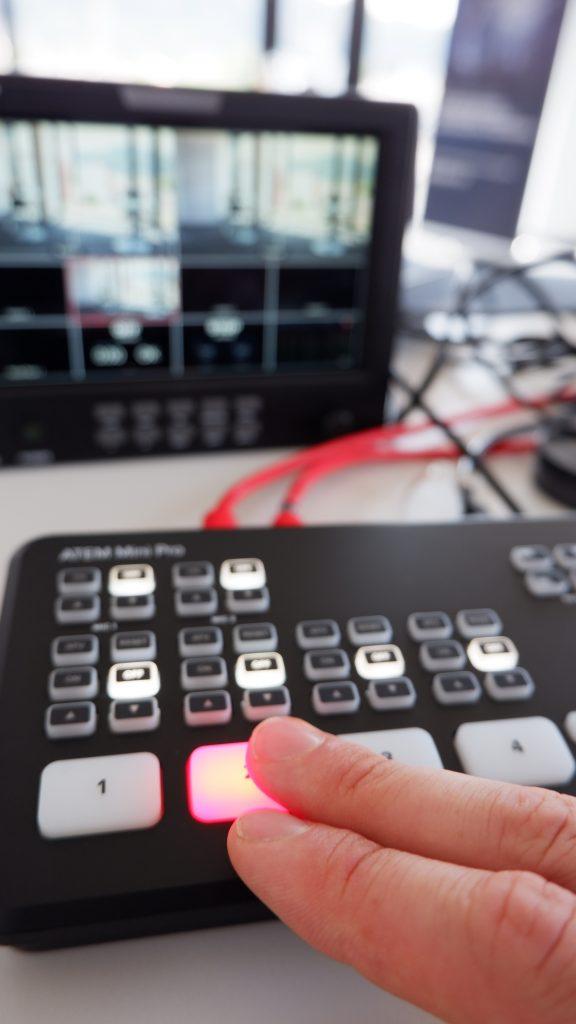 Liveübertragung MS Teams Liveevent Bildmischer
